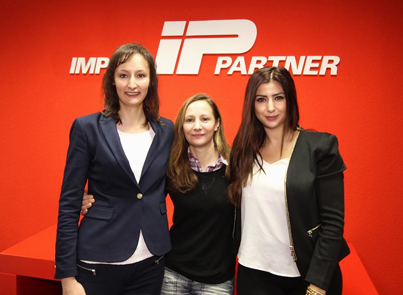 Das IP-Team begrüßt drei neue Mitarbeiterinnen in seinen Reihen